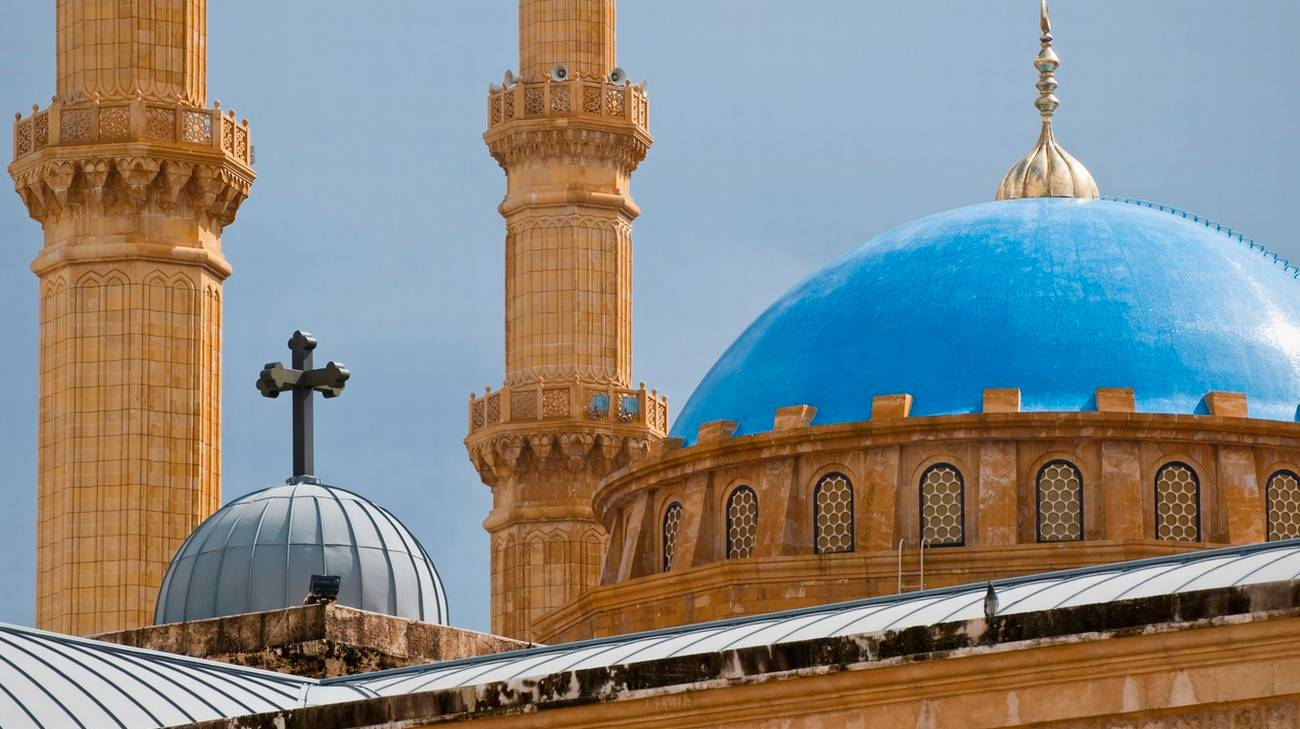 Dialogo di bellezza tra chiesa cattolica e moschea islamica