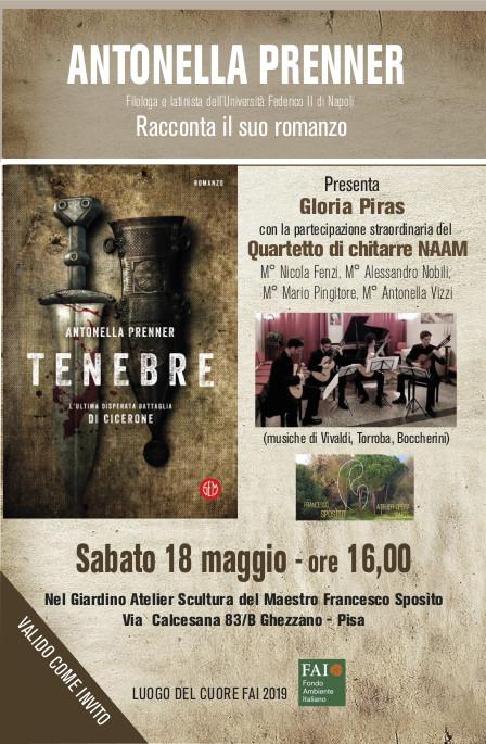 18 Maggio – Evento letterario-musicale @ Giardino Atelier Sculture del Maestro Francesco Sposìto