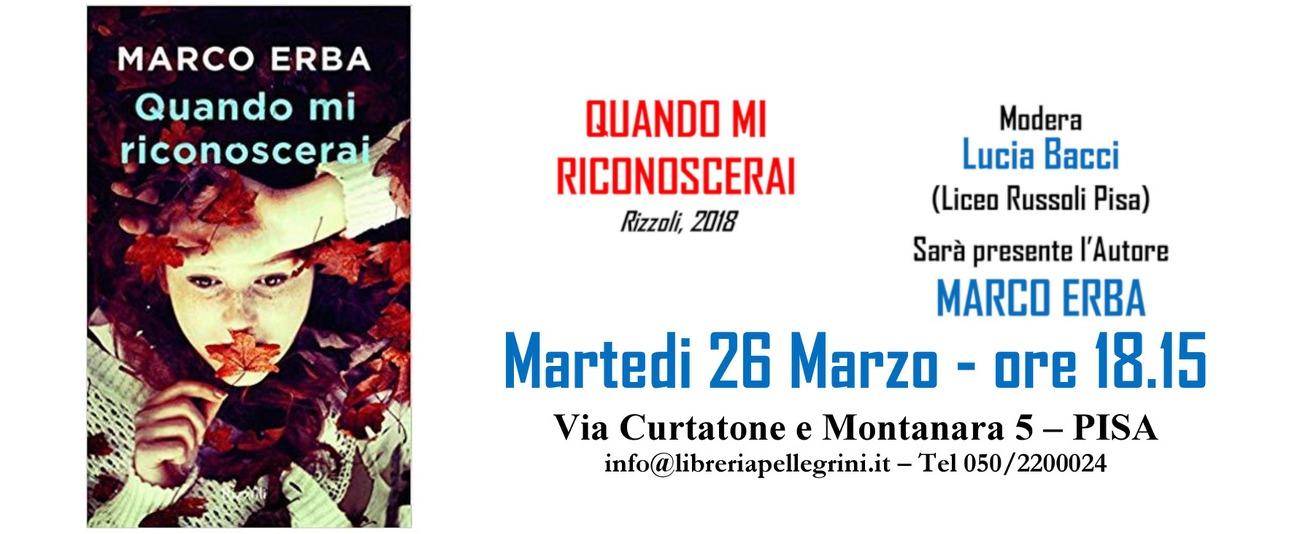 26 Marzo – Marco Erba @ Libreria Pellegrini