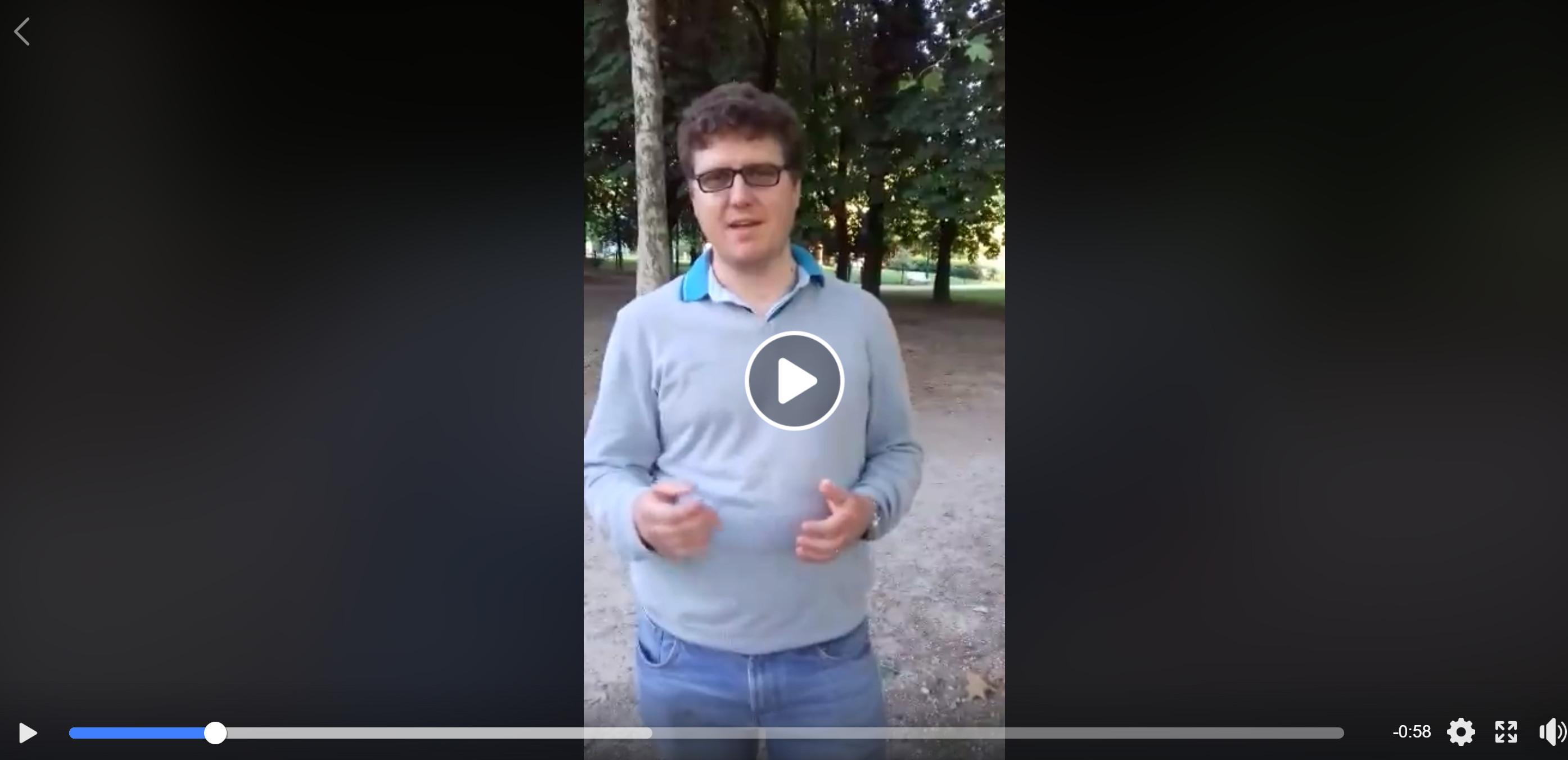 [VIDEO] I ringraziamenti di Marco Erba per AsteroideA